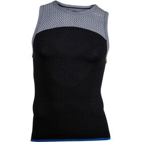 UYN Running Alpha OW Koszulka do biegania bez rękawów Mężczyźni szary/czarny